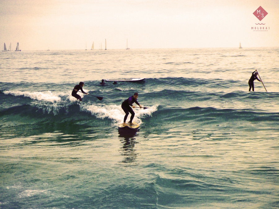 Cabalgando las olas en pleno verano. ¡Menuda semana!
