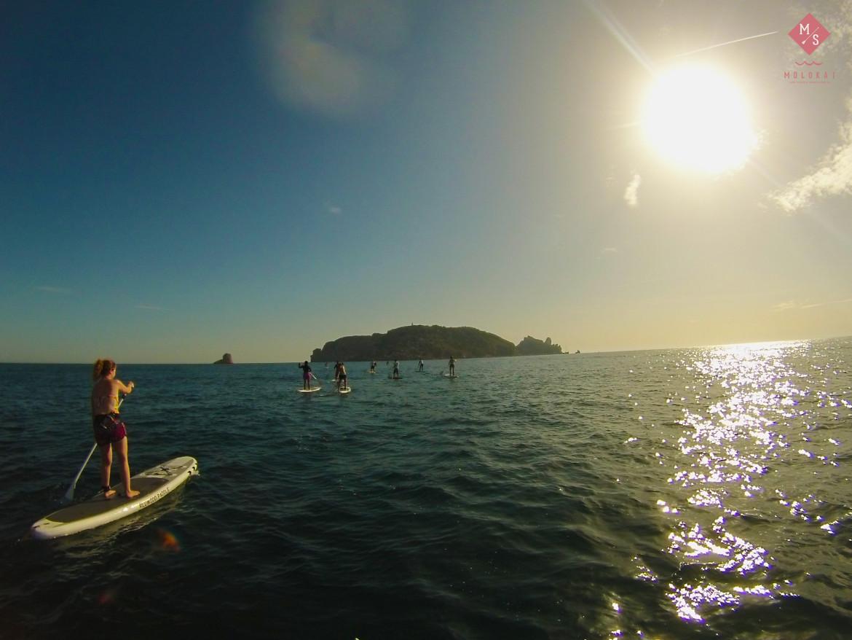 Bonita excursión en SUP a las Illes Medes (Costa Brava)