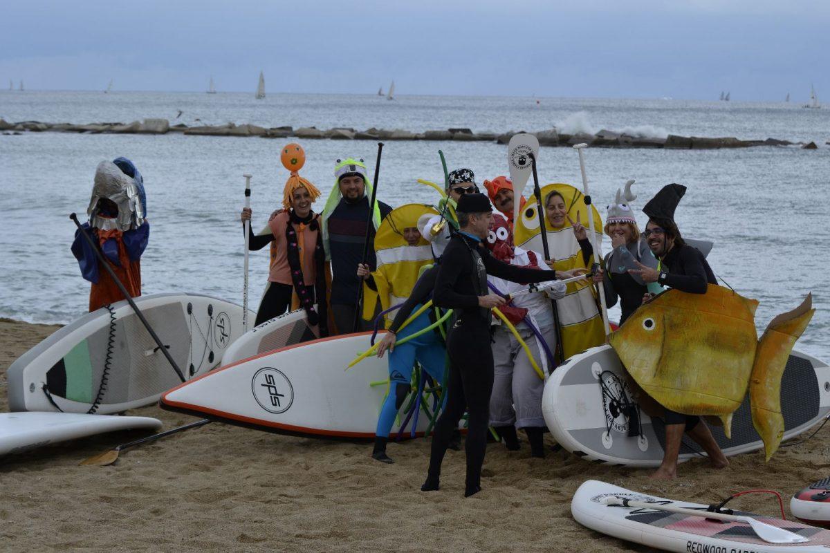 Carnaval SUP 2016 – El mar