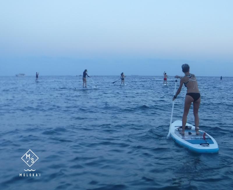 Cursos Paddle Surf Molokai