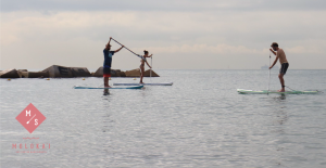 Clase grupal de perfeccionamiento paddle surf @ Moloka'i SUP Center
