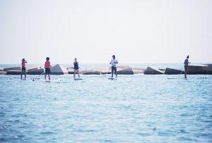 Clase grupal de iniciación paddle surf @ Moloka'i SUP Center